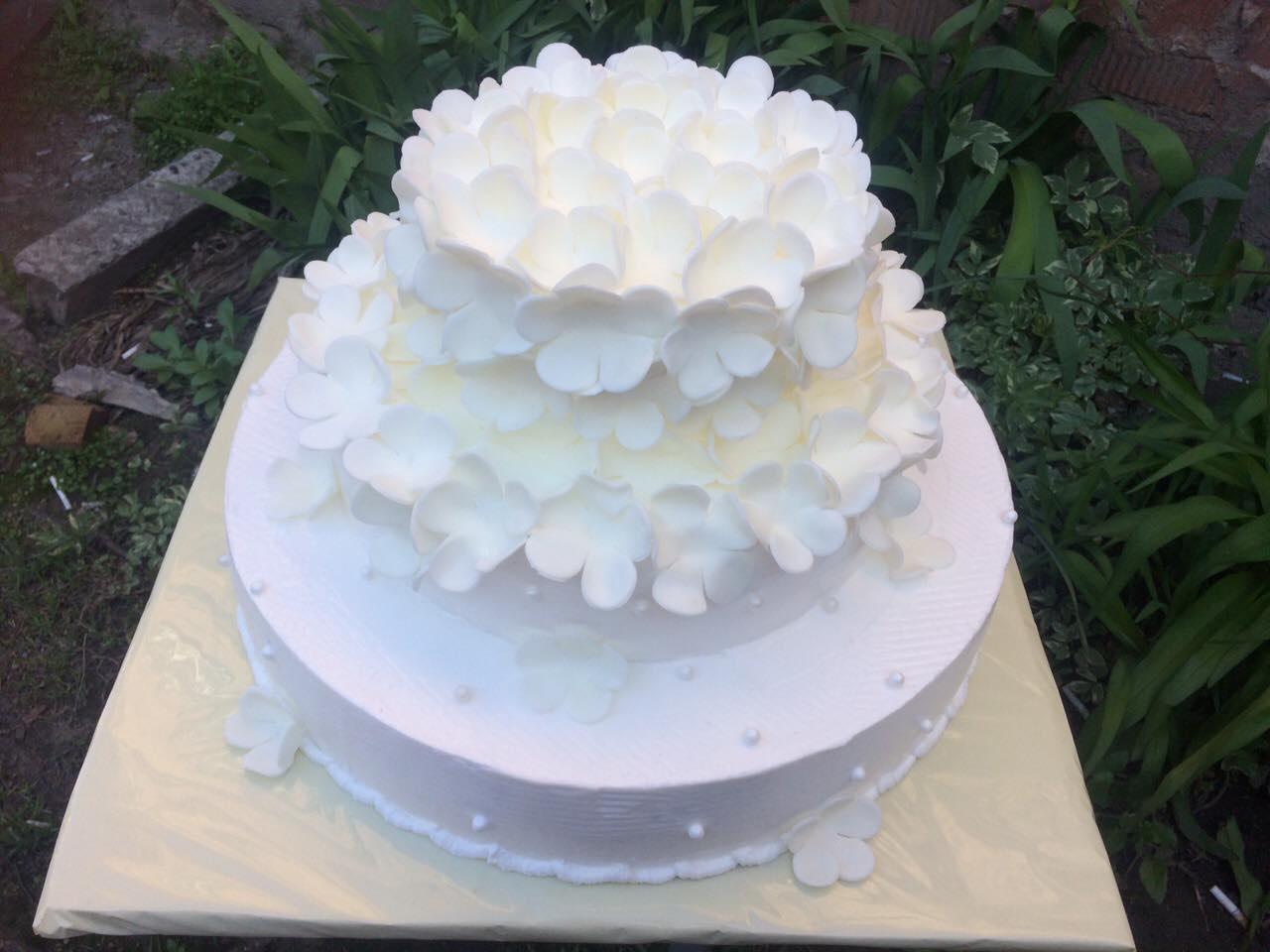 """Торт на весілля """"Ніжність"""""""