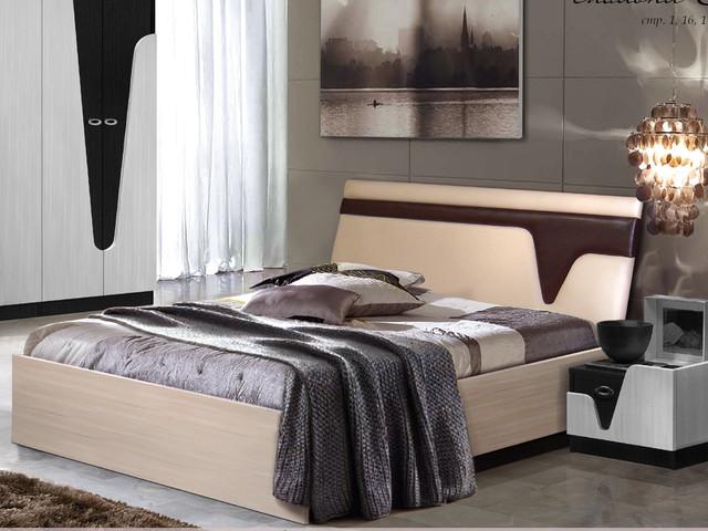 Кровать двуспальная Арья