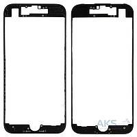 Передняя панель корпуса (рамка дисплея) Apple iPhone 7 Black