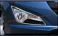 Окантовка на противотуманные фары Omsa на Hyundai i40 2011-2014 седан