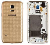 Корпус Samsung SM-G800H Galaxy S5 mini Gold