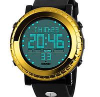 Кварцевые спортивные часы Skmei (yellow)
