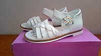 Белые нарядные босоножки на девочку 28 размер!Детская летняя обувь. Обувь для девочки лето