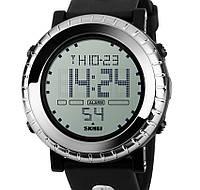 Кварцевые спортивные часы Skmei (silver)