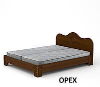 Кровать-170 МДФ двуспальная стандартная с нишей для хранения, фото 1