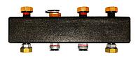 Распределительный коллектор из черной стали MEIBES 5 выходов