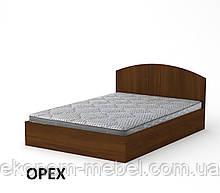 Кровать-140 ДСП полуторная с нишей для белья