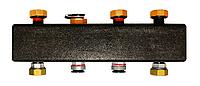 Распределительные коллекторы из черной стали на 3 контура MEIBES