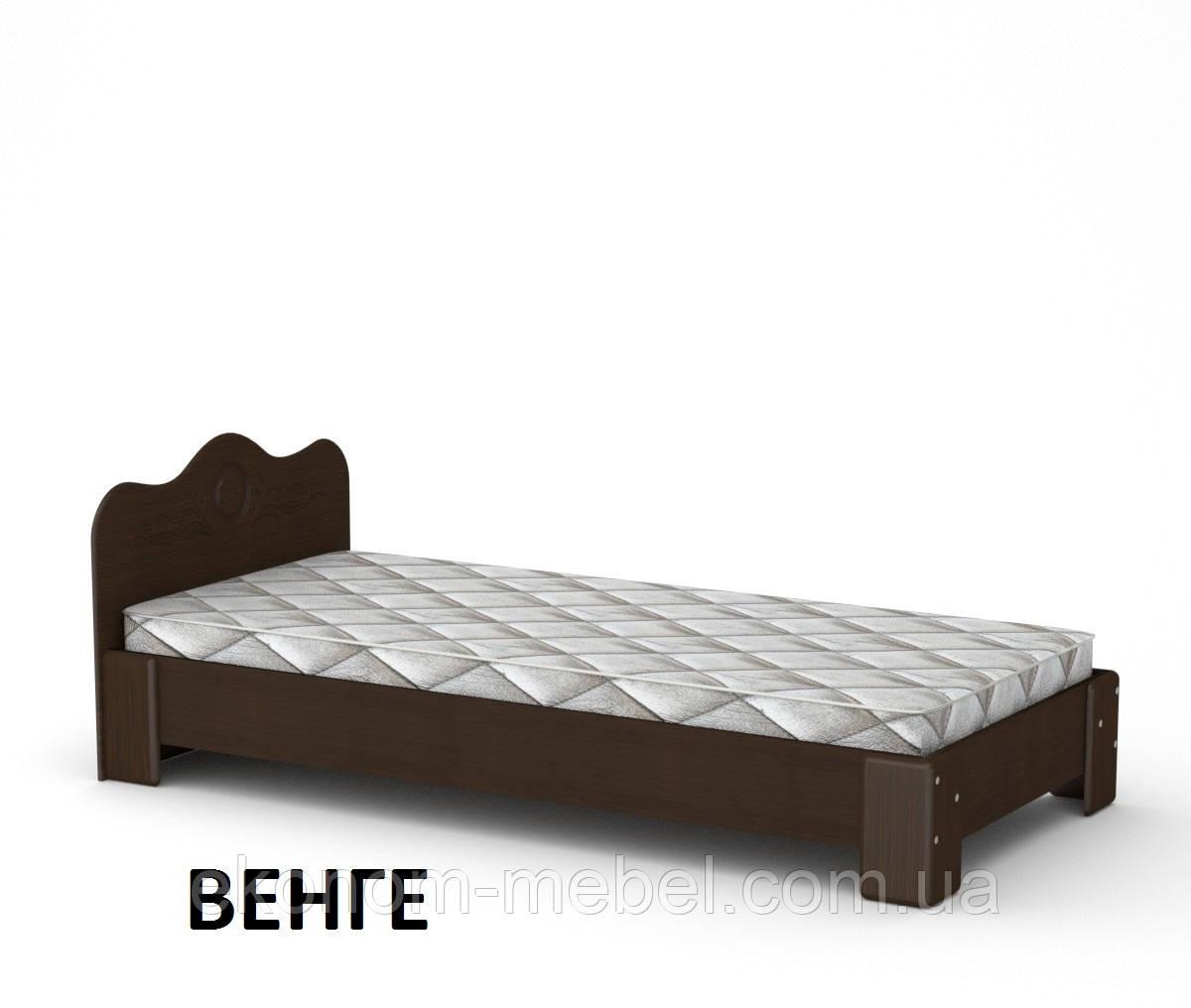 Кровать-100 МДФ односпальная