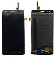 Дисплей (экран) для телефона Fly FS506 + Touchscreen Black