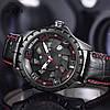 Кварцевые часы Megir (black-red) - гарантия 12 месяцев, фото 3