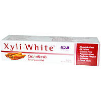 Now Foods, Освежающая зубная гель-паста Xyliwhite,  (181 г)