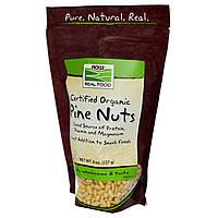 Now Foods, Натуральные и сертифицированные кедровые орехи (227 г)