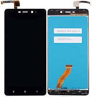 Дисплей (экран) для телефона Xiaomi Redmi 4 Pro, Redmi 4 Prime + Touchscreen Original Black