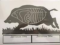 Мишень бумажная Ружес пристрелочная А4 (20 шт.)