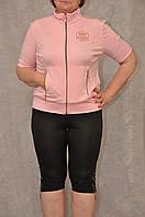 Женский спортивный костюм полу батал