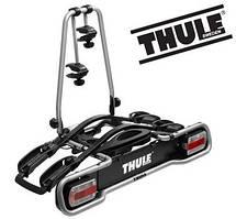 Велобагажник Thule EuroRide 941. Багажник для перевозки 2-х велосипедов на фаркоп. Велокрепление. Велоплощадка