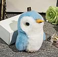 Брелок Пингвин из натурального меха, 20 см, фото 4