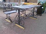 Каркас стола садового кованого ( 120x60 см), фото 8