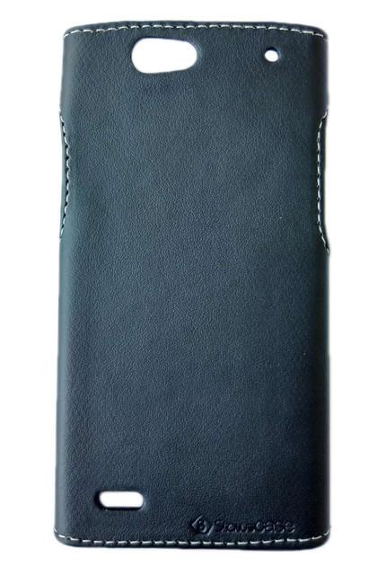 Чехол накладка Status для Fly IQ446 Magic Black Matte