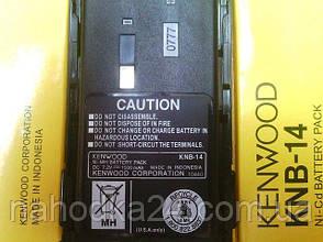 Аккумулятор Kenwood KNB-14 на Kenwood TK-3107 1500 mAh, фото 2
