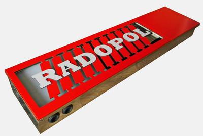 Внутрипольный конвектор 330*4750 КВК 8