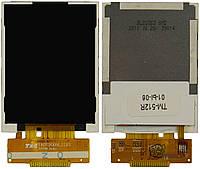 Дисплей (экран) для телефона TeXet TM-512R, Astro A200 RX
