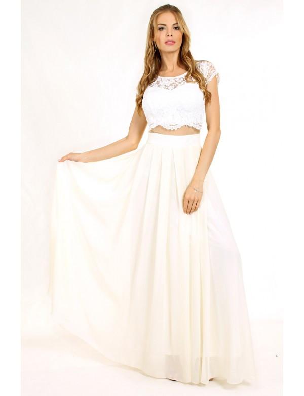 Плаття жіноче айворі вечірнє ENIGMA  MKENG 0808