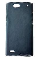 Чехол накладка Status для HTC One SC (T528d) Black Matte