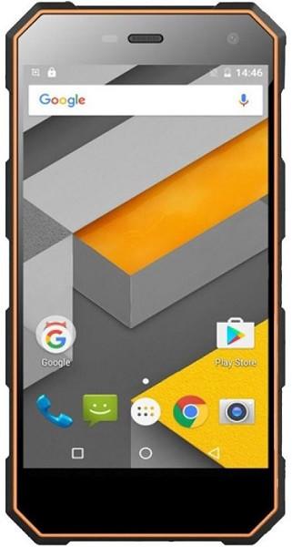 Смартфон Sigma mobile X-treame PQ24 black-orange., фото 1