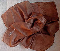 Платок шейный из натурального шелка 100% 55см*58см