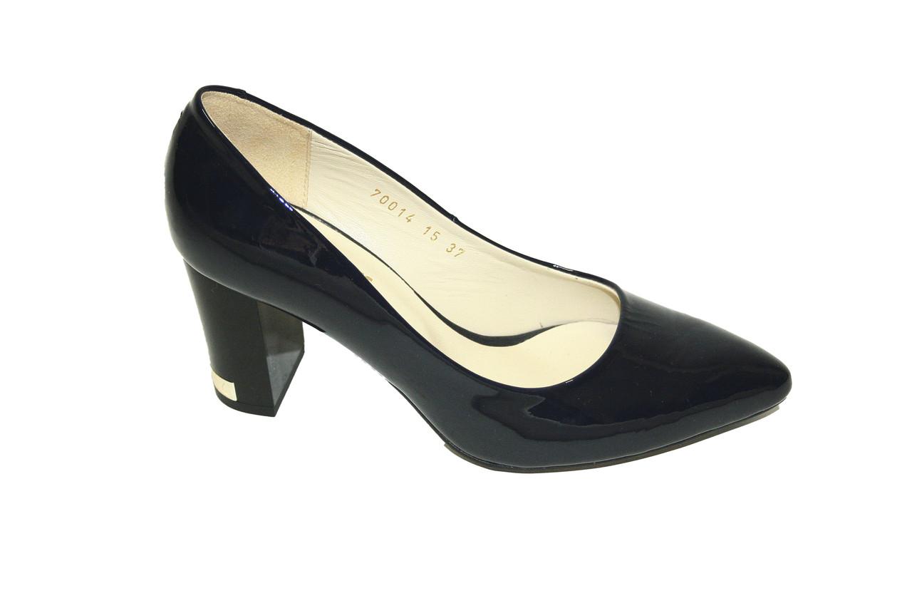 Туфли лаковые Oscar Fur 70014-03C Темно-синий