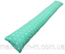 Подушка для беременных прямая (с наволочкой).