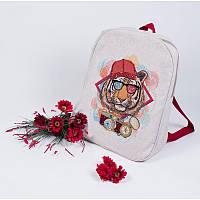 Набор для изготовления рюкзака с вышивкой 8539. ПАПАРАЦЦИ