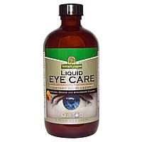 Nature's Answer, Жидкость для ухода за кожей вокруг глаз, с натуральным апельсиновым и клубничным вкусом, 8 жи