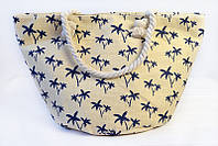 Бежевая пляжная сумка Ситония