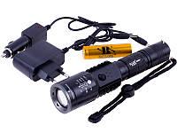 Тактический Фонарь Police BL-U01-T6 50000W с USB