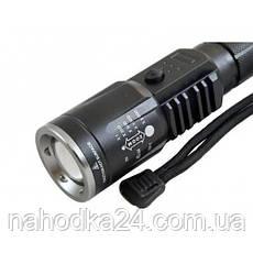 Тактический Фонарь Police BL-U01-T6 50000W с USB, фото 3
