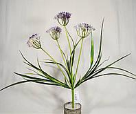 Ветка цветов 50 см 4 стебля GADH-20