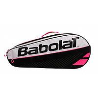Чехол для теннисных ракеток Babolat R Holder Essential Pink Х3 Сlub