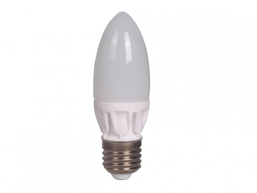 Лампа 7Вт 4100K E27 DELUX BL37B ЛЕД, керамика