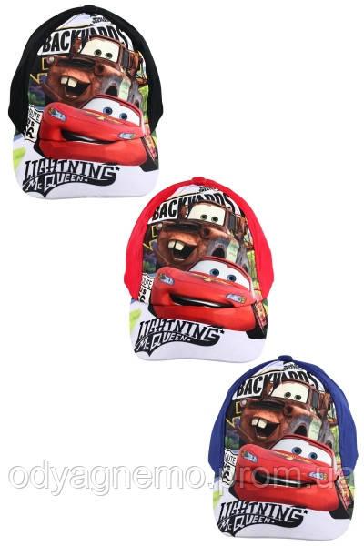 Кепки для мальчиков Disney оптом, 52-54 см.