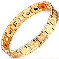 Магнитный браслет от давления - Золотой Султан 4 в 1