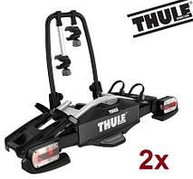 Велобагажник Thule Compact 925. Багажник для перевозки 2-х велосипедов на фаркоп. Велокрепление. Велоплощадка