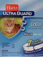 Hartz (Харц) Ultra Guard for Cats and Kittens - Ошейник для кошек и котят от блох и клещей (80483)