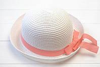 Детская летняя пастельная шляпа
