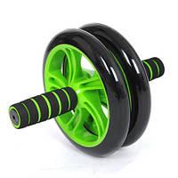 Тренажер колесо для пресса Braked AB Wheel