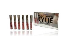 Блеск Для Губ Набор Kylie Holiday Edition Matte Liquid Lipstick Rouge ALevers Liquide au Fini Mat