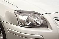 Реснички на фары Toyota AVENSIS 2003-2008 г.в.  Тойота Авенсис