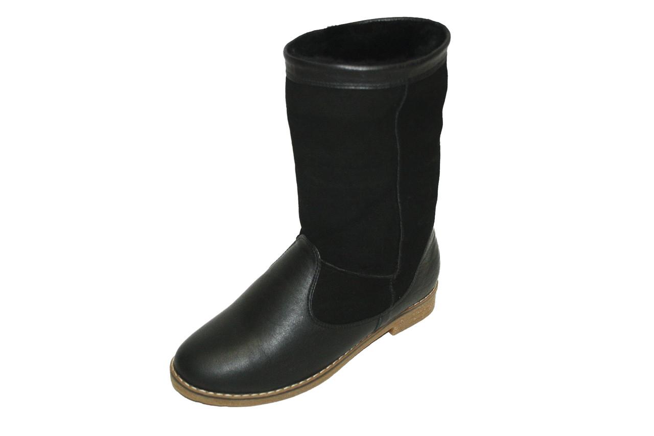 Полусапоги женские теплые / Women's warm ankle boots B-4